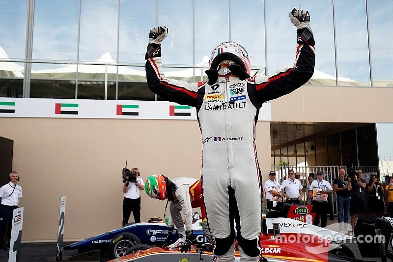 Pulcini gana la carrera y Hubert el título tras una penalización a Mazepin