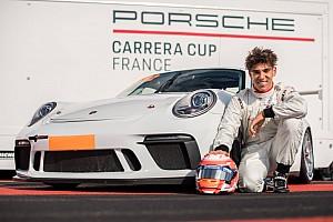 Adam Eteki devient Espoir Porsche Carrera Cup France