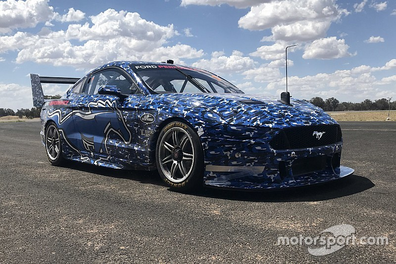 Mustang cleared to race in Supercars