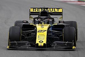 Hulkenberg: nova asa traseira de carro da F1 dá a mesma sensação de