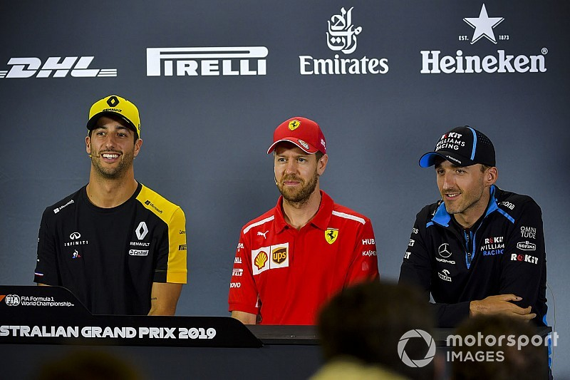 Vídeo: el homenaje espontáneo de los pilotos a Kubica por su regreso