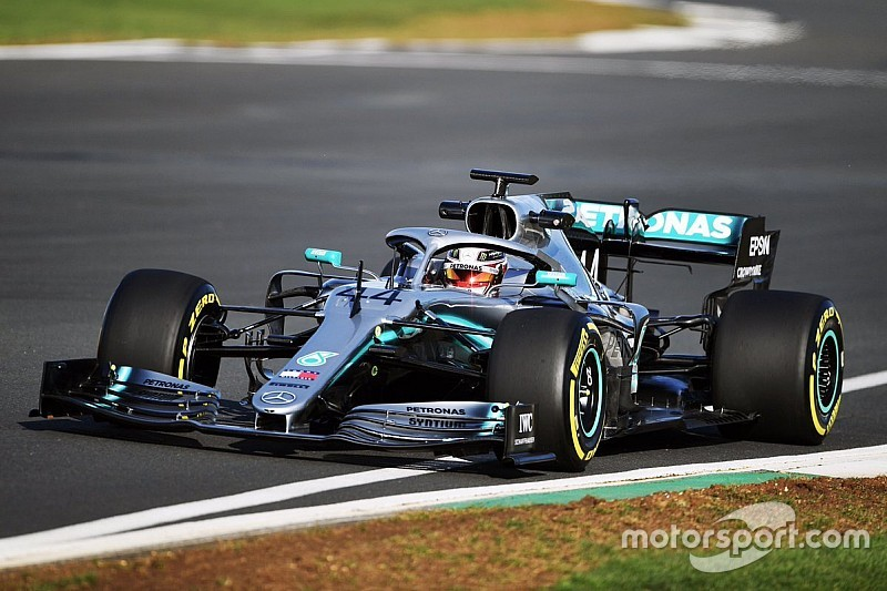 Mercedes unveils its 2019 Formula 1 car