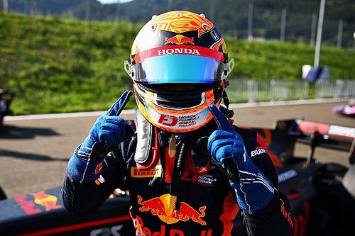 斯皮尔堡F2排位赛:角田裕毅首摘杆位,周冠宇拿下第一排发车位
