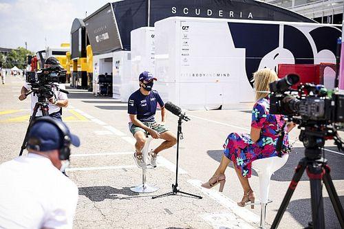 """Para Pérez fue """"muy aburrido"""" ver la Fórmula 1 por TV"""