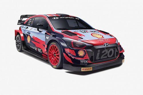 Fotos: así es la nueva decoración del Hyundai i20 Coupé WRC