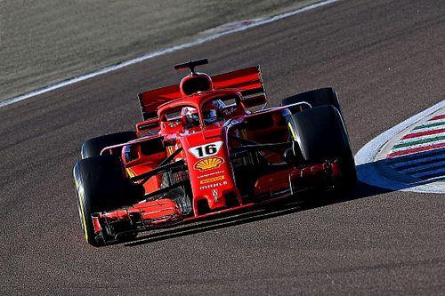 Leclerc a fait ses premiers tours de piste 2021 en F1