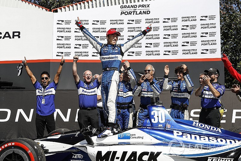 Portland IndyCar: Sato wins wild race, Dixon boosts points lead