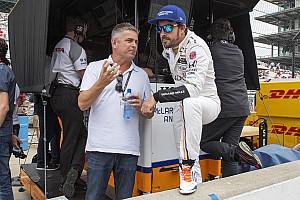 IndyCar 速報ニュース 【インディ500】ド・フェラン「アロンソのタイムは大幅に向上する」