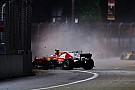 Vettel no sabe qué sucedió en el accidente en Singapur