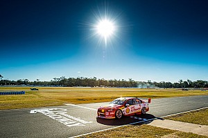 Supercars Qualifying report Ipswich Supercars: McLaughlin scorches to 11th season pole