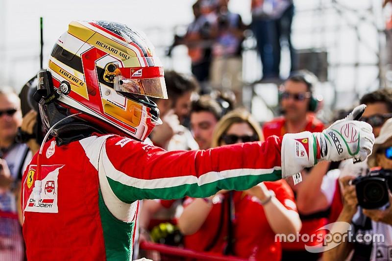 'De 14º a mi primera victoria en F2', por Charles Leclerc