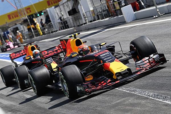 El duelo entre compañeros en clasificación - GP de España