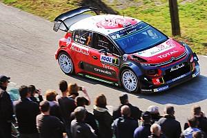 WRC Leg report Corsica WRC: Meeke takes early lead, Hanninen crashes