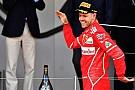Forma-1 Így ünnepelt Vettel és a Ferrari Monacóban