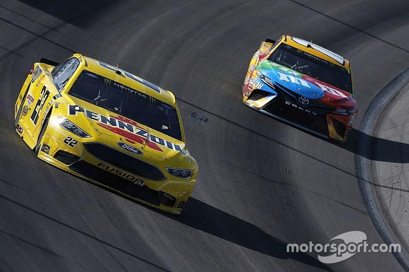 NASCAR 2017: Keine Strafen nach Prügelei zwischen Busch und Logano