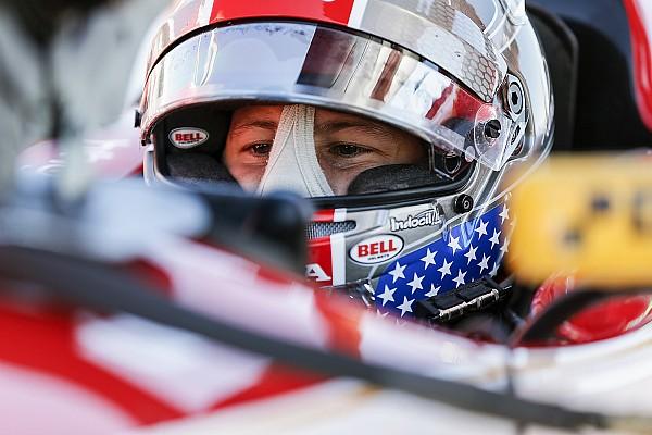 IndyCar Barber IndyCar: Marco Andretti manda en el calentamiento