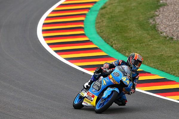 Moto3 Qualifiche Canet soffia la pole a Mir in extremis in Germania, Bulega in prima fila