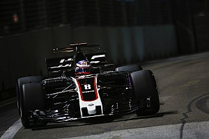 Formula 1 Breaking news Haas hopes Singapore struggles a one-off