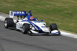 Indy Lights Qualifying report Road America Indy Lights: Herta grabs pole for Race 2
