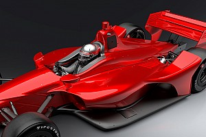 IndyCar Breaking news IndyCar to test new driver head protection on 2018 car