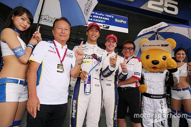 今季初ポールポジション獲得の平川亮「予選前はプレッシャーがあった」