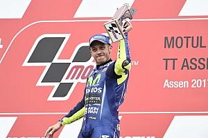 """MotoGP Noticias de última hora Rossi: """"Trabajo duramente todo el año para ganar"""""""