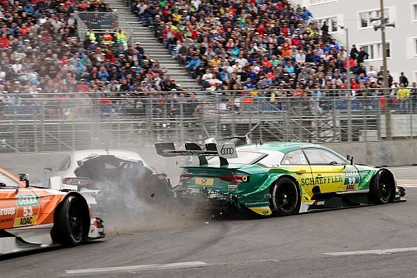 DTM В Mercedes раскрыли подробности аварии Роккенфеллера и Паффета