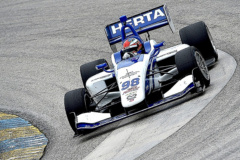 Barber Indy Lights: Herta en la pole para la segunda carrera