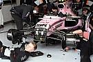 GALERÍA TÉCNICA: fotos espía de los equipos F1en los pits de Silverstone