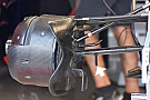 Toro Rosso: c'è una bavetta sul braccio della sospensione!