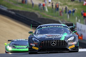 Blancpain Sprint Race report Brands Hatch BSS: Szymkowiak and Schneider dominate Qualifying Race