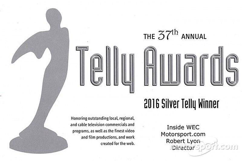 """""""موتورسبورت.كوم"""" يتلقى عدة جوائز """"تيلي"""" لأفضل سلسلة رقمية على الإنترنت"""