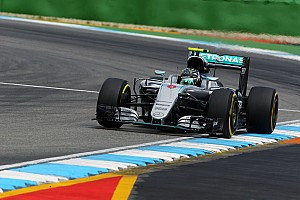 Formula 1 Practice report German GP: Rosberg completes practice clean sweep