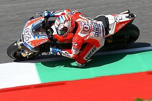 MotoGP Résumé d'essais libres EL1 - Dovizioso place Ducati au sommet, Rossi se teste