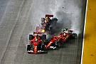 Ferrari y Verstappen serán investigados por el accidente en el arranque