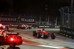 Forma-1 Motorsport.com hírek Minden kameranézetből a szingapúri baleset: Vettel-onboard és a többi