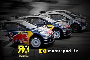 Motorsport.tv trasmetterà in esclusiva il FIA World Rally Cross Championship in UK e Irlanda