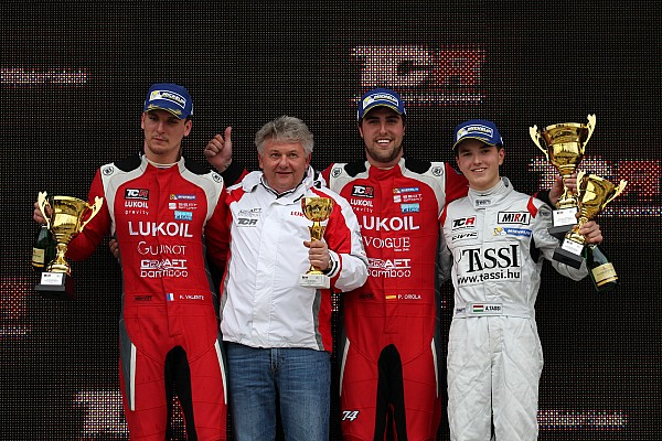 TCR Craft-Bamboo Racing triumphs with Race Two victory in Georgia