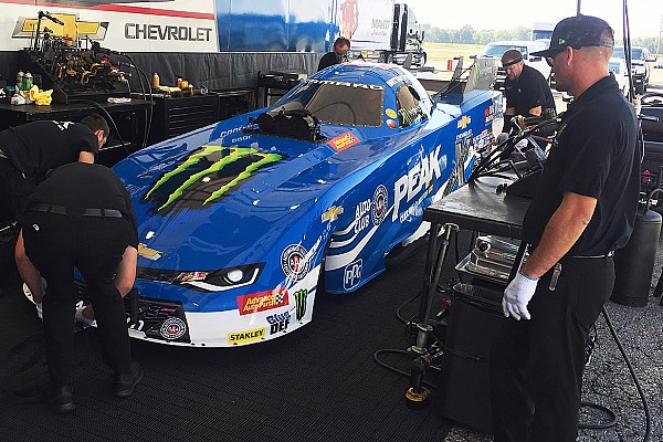 NHRA Brittany Force completes first Funny Car test