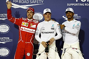F1 Reporte de calificación La parrilla de salida del GP de Bahrein