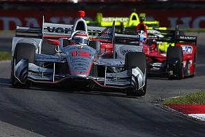 IndyCar Yarış raporu Pocono IndyCar: Power bir tur geriden galibiyete uzandı