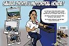 Cartoon van Cirebox - Sauber met Honda-motor?