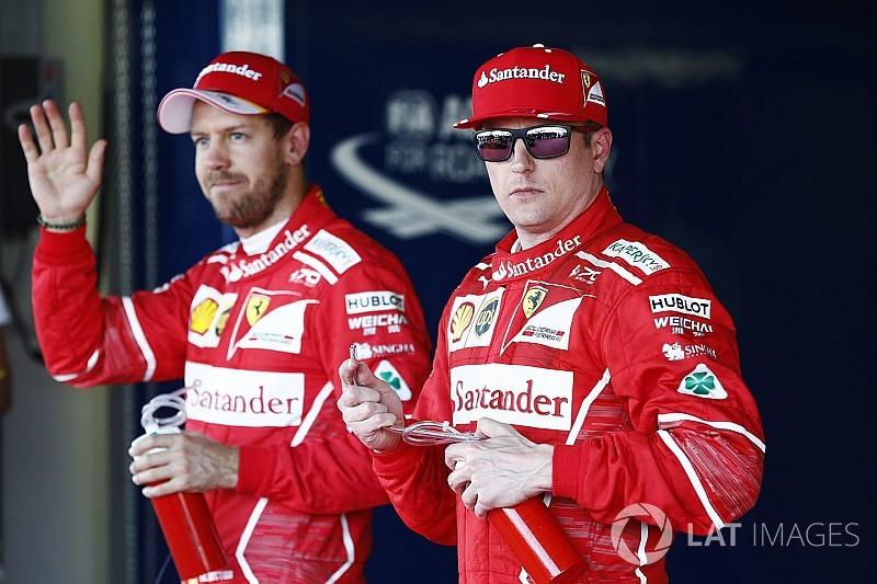 Raikkonen layak dapat hasil lebih baik - Vettel