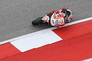 MotoGP Últimas notícias Lorenzo atribui 9º lugar em Austin a granulação nos pneus