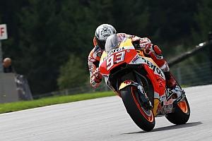 MotoGP Важливі новини Маркес: В Австрії проблеми з прискоренням у Honda скінчились