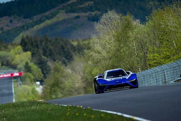 Automotivo Últimas notícias Vídeo: carro elétrico estabelece recorde em Nürburgring