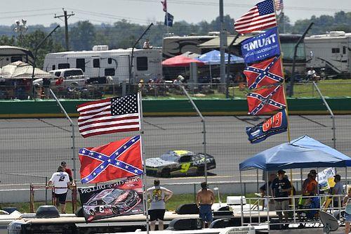 NASCAR prohíbe la bandera confederada en todas sus pistas