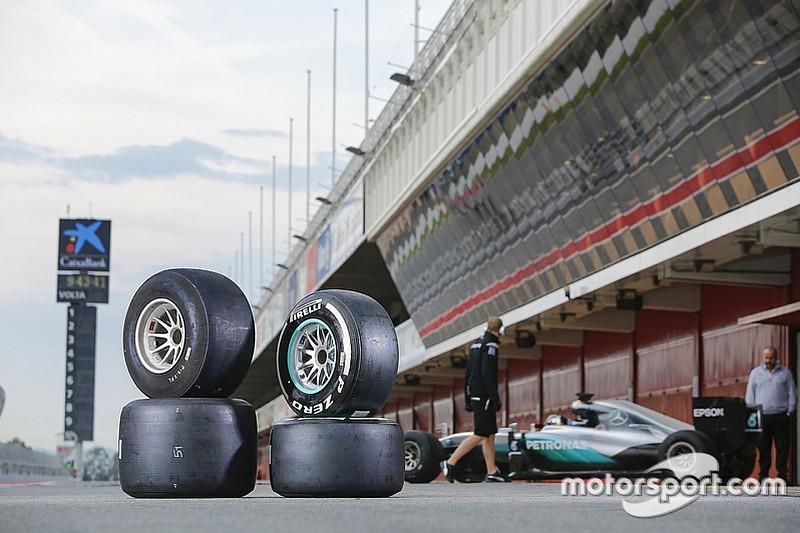 巴塞罗那轮胎测试收场 第二天改测半雨胎