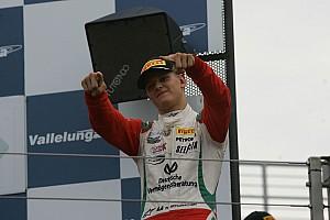F3 Europe BRÉKING Mick Schumacher F3-as gépet tesztel!