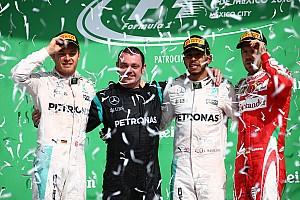 Formula 1 Race report Mexican GP: Hamilton wins, Red Bulls rile Vettel in wild finish